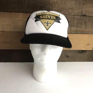 New Orleans saints sports specialties trucker hat
